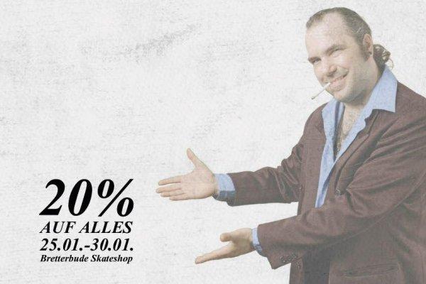 [Lokal Erlangen] Bretterbude Skateshop 20% auf gesamtes Sortiment
