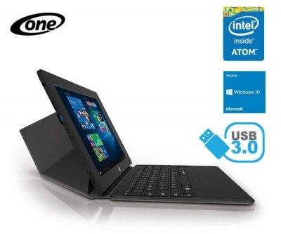 [One.de] One Tablet Xcellent 10.2 (10,1x27x27 HD IPS, Intel® Atom x5-Z8300, 2GB RAM, 32GB intern, USB 3.0 + microHDMI, Windows 10) + Tastaturdock für 177,98€ *** mit UMTS und 64GB für 217,98€ + 2% Cashback