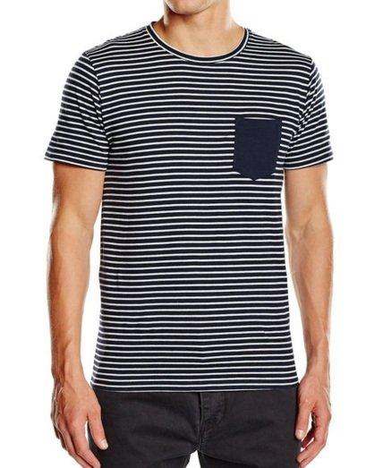[Amazon +] Selected Herren T-Shirt    Navy     Gr. S-XXL    (Preis-Vgl. ab 13,95€) 100% Baumwolle+ Polo Shirts für 5,95€