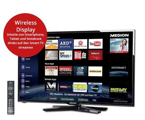 """49,5"""" Medion Smart TV @ Aldi Nord abverkauf"""