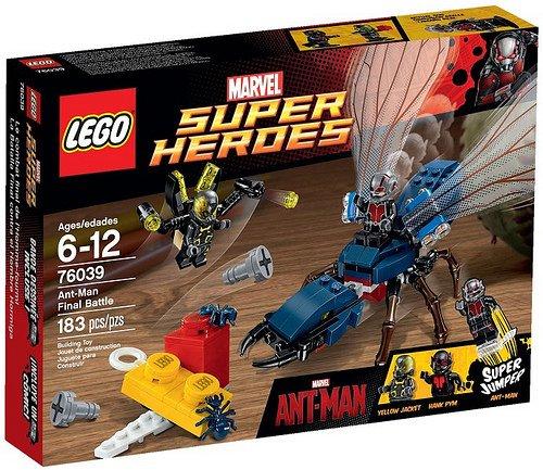 Lego 76039 Ant-Man – Das finale Duell (EOL) für 19,28 (evtl. VSK)