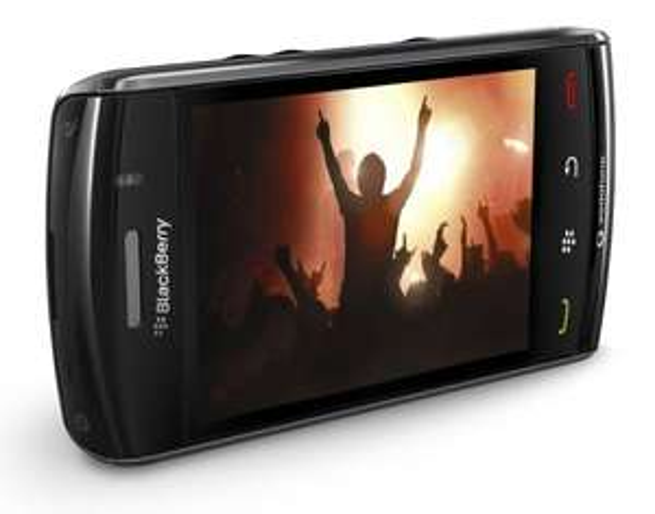 Blackberry Storm 9500 für 19,99€ @ Buyfox - wirklich altes Smartphone für Nostalgiker