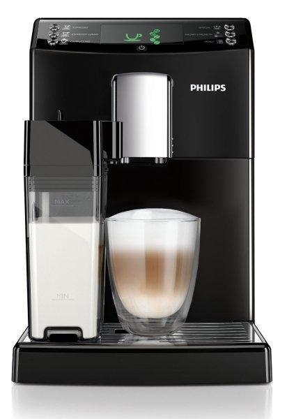 Philips HD8834/01 3100 Serie Kaffeevollautomat, integrierte Milchkaraffe, schwarz @Amazon