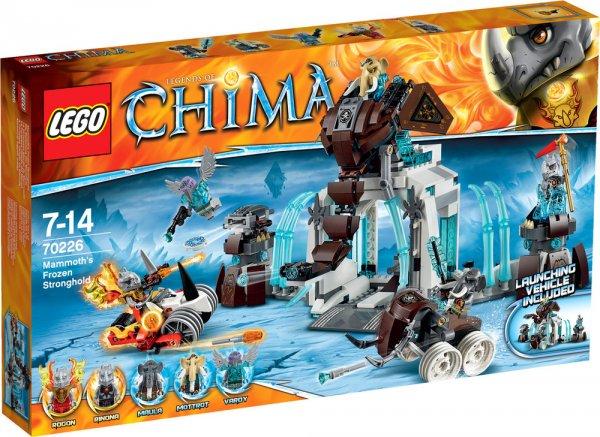 Lego 70226 Chima – Die Eisfestung der Mammuts (EOL) für 32,49€