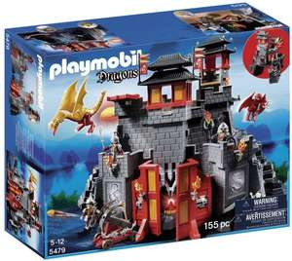 [Amazon.uk] Playmobil Dragons - Große Asia-Drachenburg (5479) für 65,90