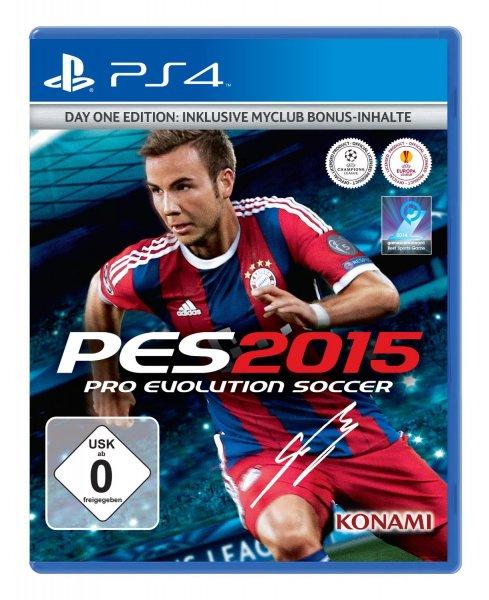 Pro Evolution Soccer 2015 (PS4 / Xbox One) für 7,99 € oder für PC 5 € @ Saturn Latenight Shopping