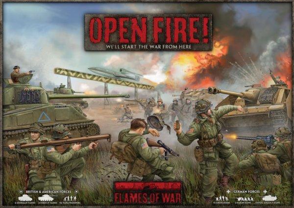 Open Fire! Starterpaket (Flames of War) Tabletop