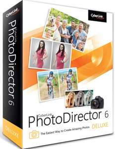 (Windows) Cyberlink PhotoDirector 6 Deluxe