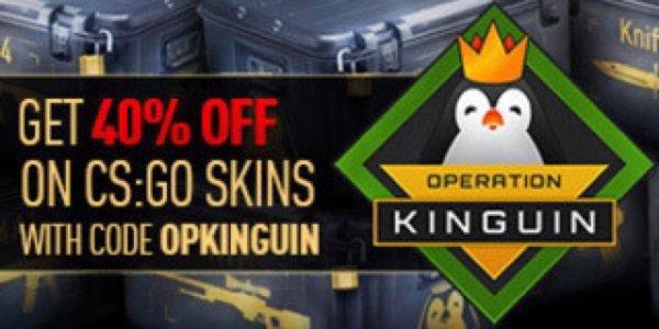 [Kinguin] 40% Rabatt auf CSGO Items! Günstig Steam Guthaben
