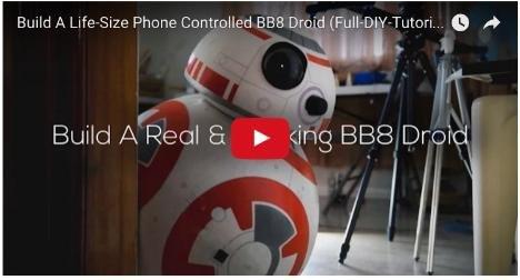 Star Wars: Anleitung zum Bau eines lebensgroßen BB-8-Droiden ***ca.120€***