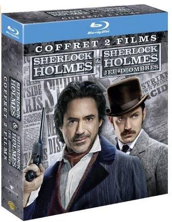 [amazon.fr] Sherlock Holmes: Teil 1 und Teil 2 (Spiel im Schatten) als Blu-ray-Doppelpack