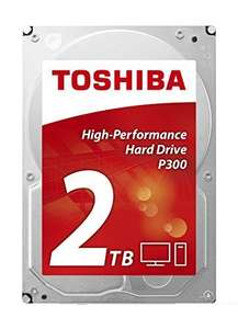 [Amazon] Toshiba P300 HIGH-PERFORMANCE HD HDWD120UZSVA interne Festplatte 2TB (3,5 Zoll), 7200rpm, 64MB Cache, SATA)
