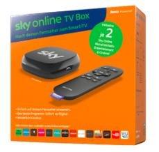 Sky Online TV Box inkl. 2 Sky Monatstickets Entertainment & Cinema für 19,99€ bei Saturn.de