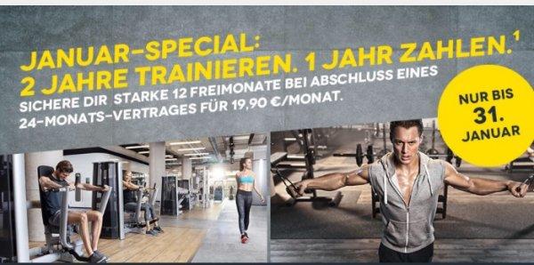 ERINNERUNG - Mc Fit Aktion bis 31.01.16 ein Jahr zahlen, ein Jahr umsonst trainieren