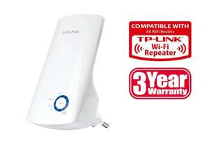 TP-Link TL-WA854RE WLAN Repeater (300Mbit/s, WPS) ab 14,90€ [@Amazon Blitzangebote]