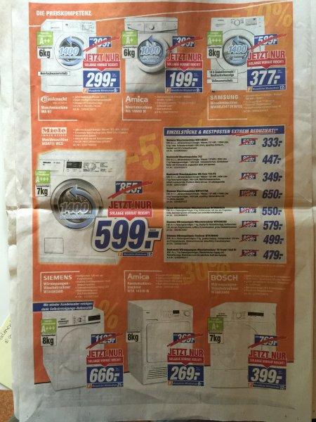 Expert/Technomarkt Miele WDA111 WCS Waschmaschine, Angebote Bayern