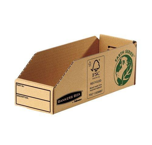 [Amazon] 50x Bankers Box Earth Kleinteilebox (98mm, 100% recycled Karton) für 13,64 € (27,3 ct./Stück) / nächster Preis 54,02 €