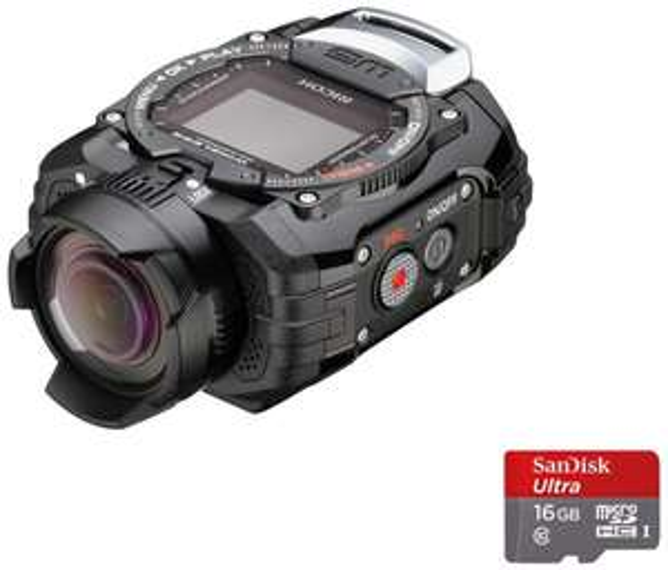 [Amazon.fr] Ricoh WG-M1 ( 14MPix Wasserfeste Action Cam ) + Micro SD Karte