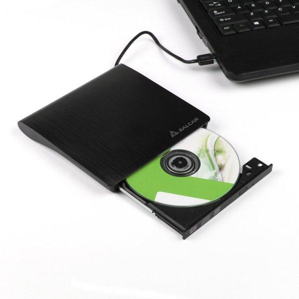 15% Gutschein - Externer USB3.0 DVD-RW DVD/CD Brenner von Salcar