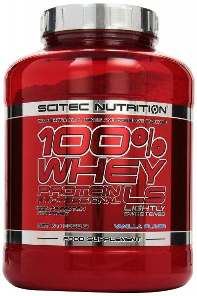 @Amazon Scitec Nutrition Whey Protein Professional  Vanille, 1er Pack (1 x 2350 g) für 26,99€