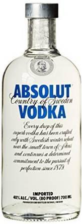 [Amazon Prime] Absolut Vodka 0,7l für 10,69€