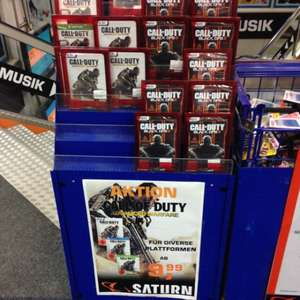 COD Advanced Warfare versch. Konsolen 9,99€ Saturn Offline (Lokal München?)