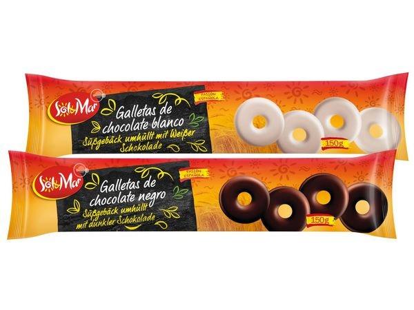 [Lokal Rostock?] Galletas de chocolate 150g Spanische Schokoladenkekse für 49 statt 99Cent bei Lidl