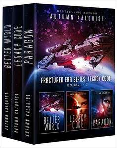 Autumn Kalquist, Fractured Era: Legacy Code Bundle (Books 1-3) für 99 Cent bei Amazon.com