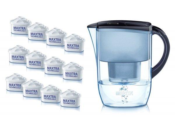 @Amazon: Brita Wasserfilter Fjord Jahrespackung, mitternachtsblau (lim. Edition) für 54,99€ inkl. 12 Britta Maxtra Wassertfilter