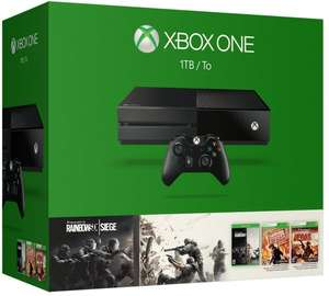 Xbox One 1TB + Tom Clancy's Rainbow Six: Siege + Vegas + Vegas 2 für 349,95€ bei Coolshop.de