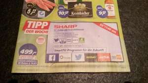 [Real] Sharp LC-55CFE6242E, LED Fernseher, 140 cm (55 Zoll), 1080p (Full HD), Smart-TV