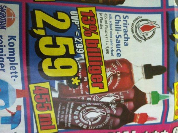 [Lokal] IAb 5.2.16I Norma Sriracha Chili-Sauce - süß, scharf oder sehr scharf - 455ml 2,59€