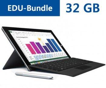 Microsoft Surface 3 EDU-Bundles wieder vergünstigt ab 549€ mit Stift und Typecover im Set!