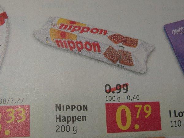 (Rossmann) Nippon Puffreis 200g für 0,79 Euro ab 01.02.16