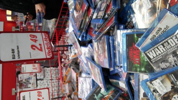 [Lokal Nürnberg Mediamarkt Virnsbergerstr] Verschiedene Blurays 2,49€
