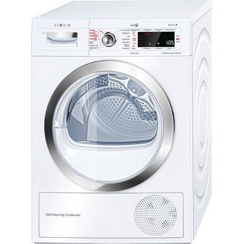 BOSCH WTW855E25 Wärmepumpen Trockner 9kg Dampffunktion Allergikergeeignet, sehr leise, Selbstreinigung, Knitterschutz, A++  550 Euro