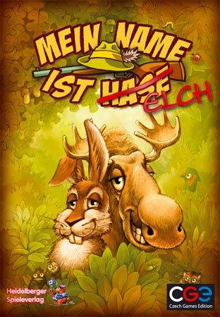 Mein Name ist Hase/Elch (Brettspiel, Gesellschaftsspiel, Spiele-Offensive.de)