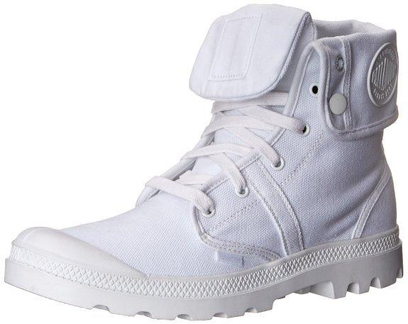 [ebay] Palladium Pallabrouse Baggy Damen Desert Boots in weiß Gr. 36-42 für 34,02 Euro!