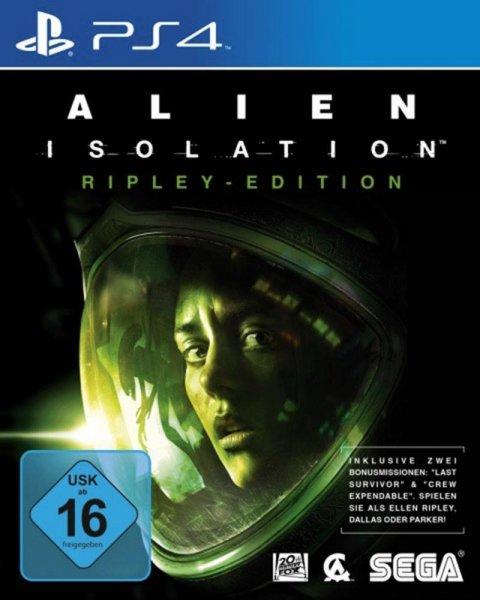 [saturn.de] Alien: Isolation (Ripley Edition) - PS4 und Xbox One  für 12€ inkl. Versand
