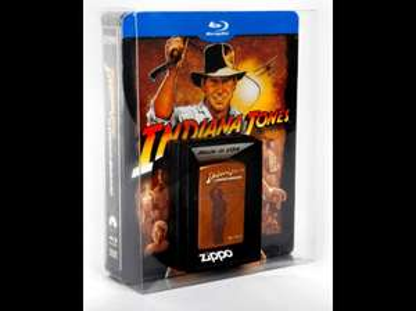 [Saturn] Indiana Jones – The Complete Adventures: Limitiertes Steelbook inkl. Zippo - (5 Blurays) für 34,99€€