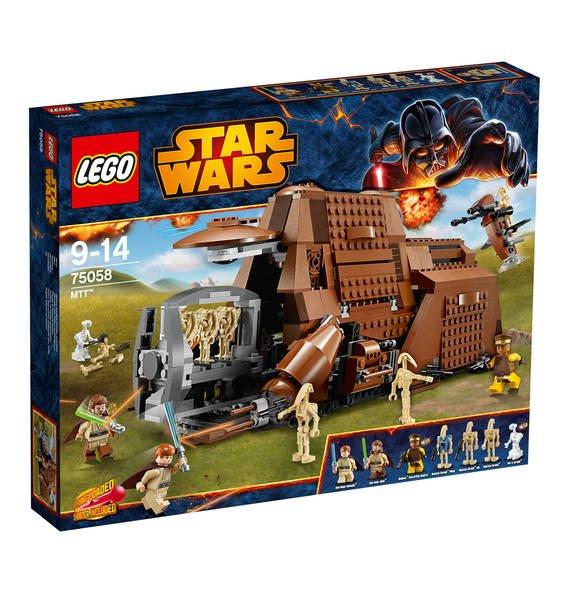 LEGO Starwars MTT 75058 (bei Lego ausverkauft) für 90€ möglich, Galeria Kaufhof. Lego Technic Arocs für 140€ möglich