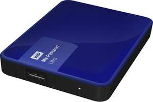 Western Digital My Passport Ultra 2015 blau 2TB, USB 3.0