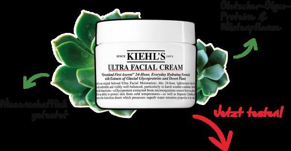 Kostenlose Produktprobe Kiehl's Ultra Facial Cream