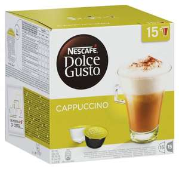 Nescafé Dolce Gusto Vorratsbox Cappuccino, 3x30 Kapseln