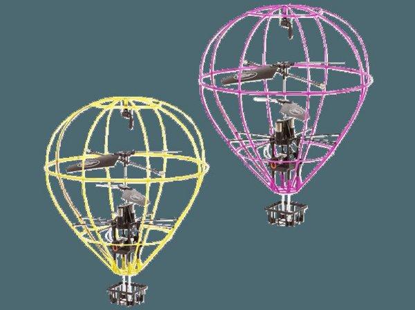 [Saturn] INTECC Hot Air Balloon in Violett für 24,99€