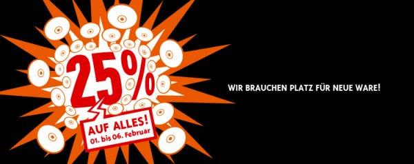 [Andrä] Lokal 25% auf Alles (CDs, LPs, DVDs, Blu-Rays und Games)