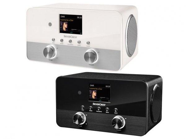 SILVERCREST® Stereo-Internetradio SIRD 14 C1 - digitales DAB+-Radio, UKW-Tuner mit RDS-Funktion, Internet-Radio und Spotify-Connect-Empfänger für 99,99€ - Lidl (lokal)