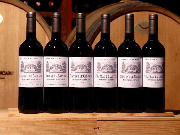 12 Flaschen Bordeaux Rotwein 2010er Chateau le Calvaire, 104,30€ Weinfundus @ ebay