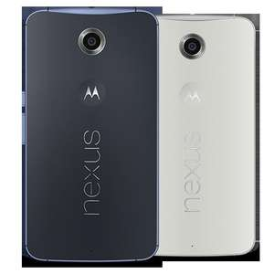 (Lokal München?) Nexus 6 blau & weiß 32GB 297€