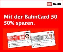Für junge Leute (bis einschließlich 26 Jahren) Bahn Card 50 für 69€